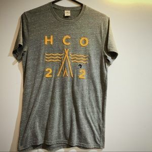 Hollister HCO men's stitched tee